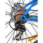 Горный велосипед Crosser Fox 26 дюймов синий, фото 5