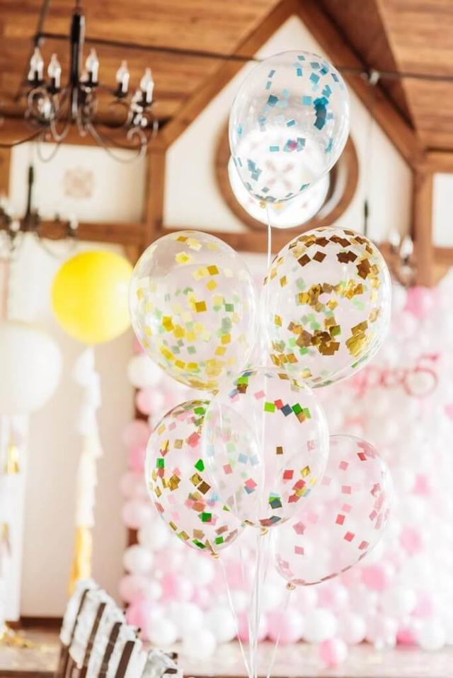 шары с декором