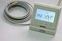 Программируемый кнопочный терморегулятор теплого пола M 6.716 с дисплеем