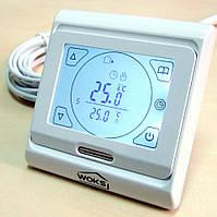 Программируемый сенсорный терморегулятор теплого пола M 9.716 с дисплеем