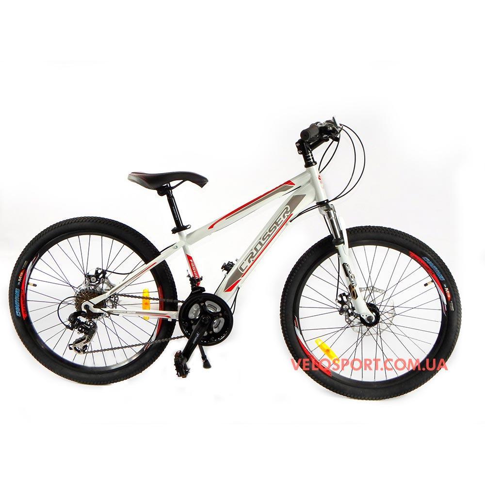 Горный велосипед Crosser Fox 26 дюймов белый