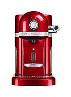 Кофемашина Artisan Nespresso, красный karmelek