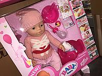 Кукла  Baby Born девочка в розовой одежде, новинка