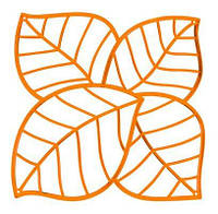 Декоративная Панель Leaf коричневый
