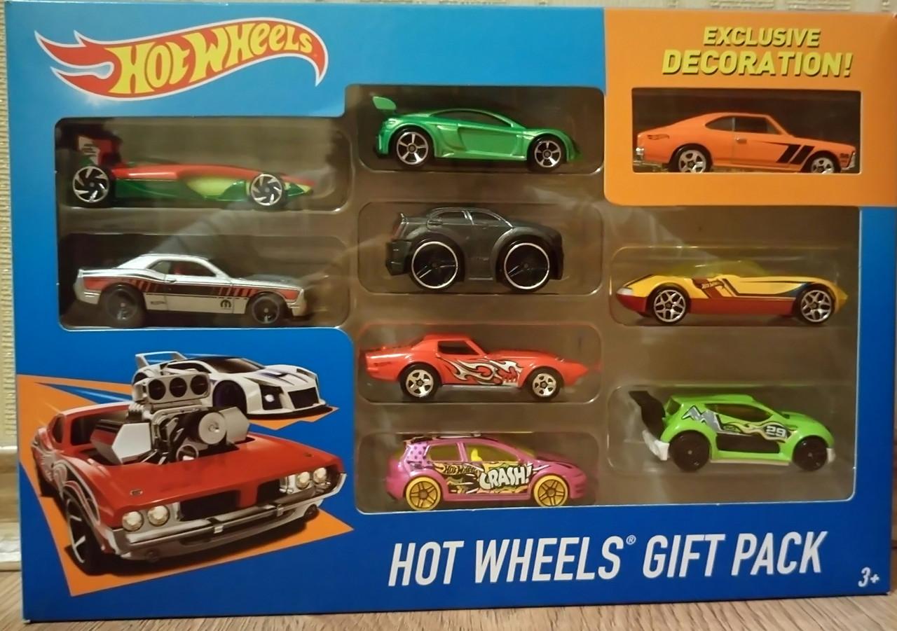 Набор машинок Hot Wheels 9 штук в оригинальном дизайне