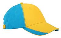 Кепка Патриот сине-желтая