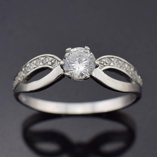 """Серебряное кольцо """"Нежность"""", размер 20, вес серебра 1.79 г"""