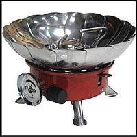 Портативна газова плита з п'єзо підпалом №203