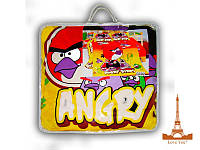 Комплект полуторный детский  Love you одеяло + постельное белье Angry Birds - Злые Птички