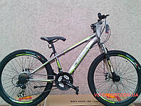Горный велосипед Crosser Force 26 дюйма серый