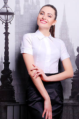 рубашка GLEM блуза Норма к/р