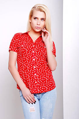 рубашка GLEM блуза Якира к/р