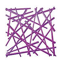 Декоративна Панель Stixx фіолетовий прозорий