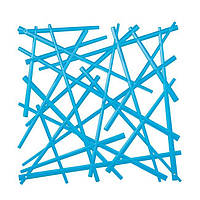 Декоративна Панель Stixx інтенсивно синій прозорий