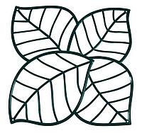 Декоративная Панель Leaf черный