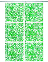 Декоративна Панель Fusion, зелена