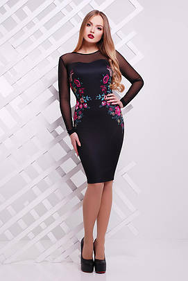 платье GLEM Вышивка платье Донна2 д/р