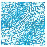 Декоративна Панель Silk інтенсивно синій