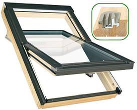 Мансардное окно Факро деревянное