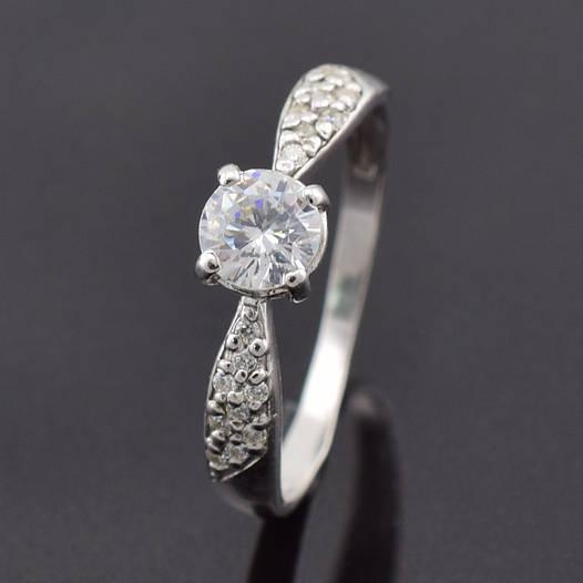 """Серебряное кольцо """"Полина"""", размер 17, вес серебра 1.54 г"""