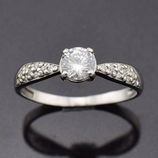 """Серебряное кольцо """"Полина"""", размер 19, вес серебра 1.54 г"""