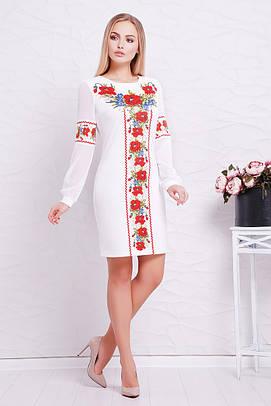 GLEM Красные маки платье Талина д/р