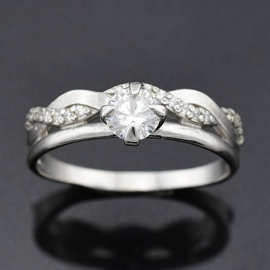 "Серебряное кольцо ""Сабрина"", размер 20, вес серебра 2.41 г"