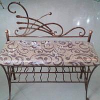 Банкетка - диван художественая ковка