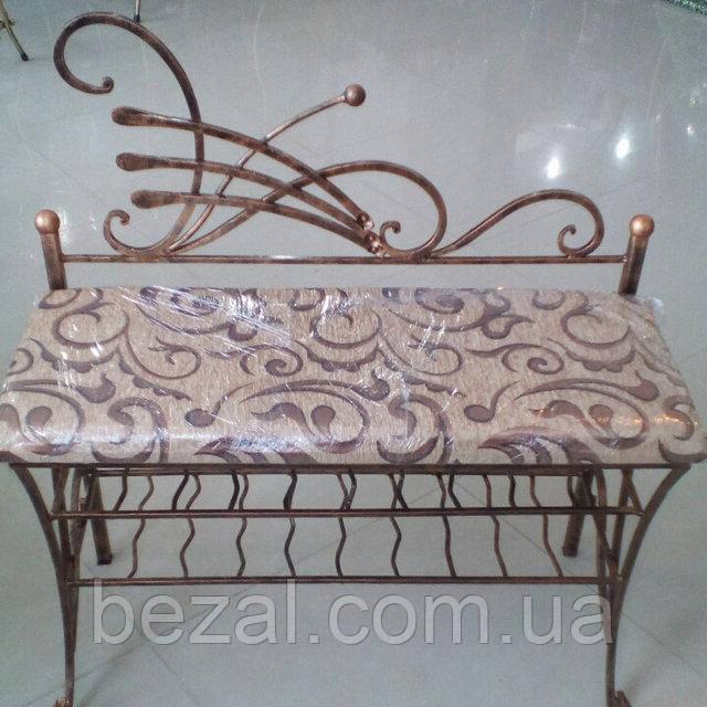 Банкетка - диван художественая ковка, фото 1