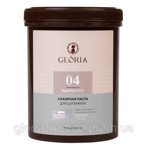 Паста для шугаринга GLORIA средняя 1,8 кг, фото 2