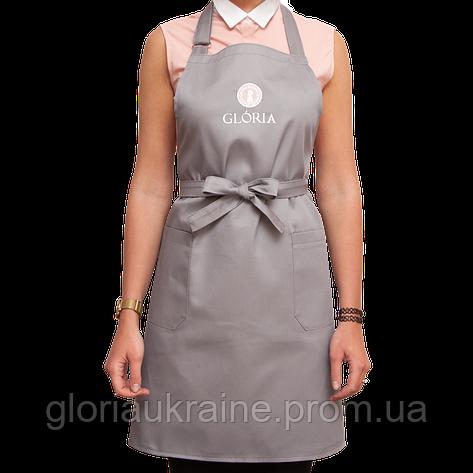 Фартук для мастера GLORIA серый, фото 2
