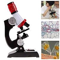 Детский микроскоп. Увеличение до 1200 раз