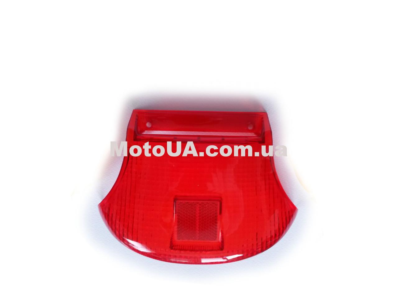 Стекло стоп-сигнала SUZUKI LETS (красное)