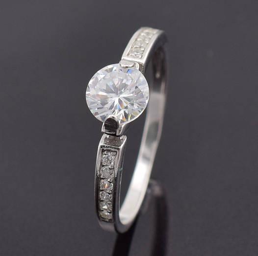 """Серебряное кольцо """"Франсуаза"""", размер 21.5, вес серебра 1.54 г"""