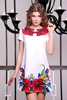 GLEM Маки платье Тая-2 к/р