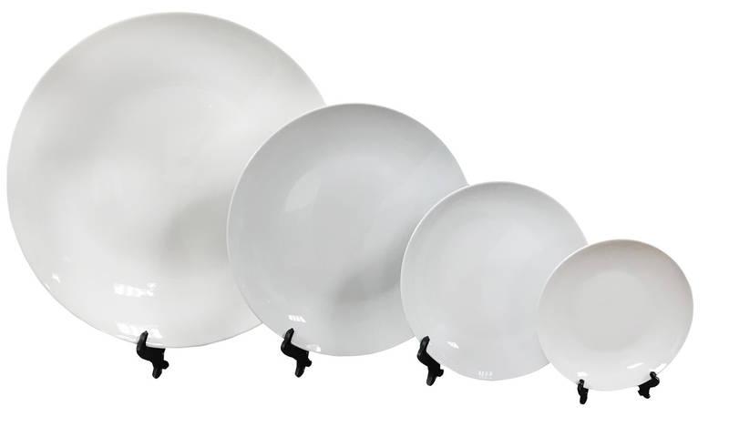 Керамическая тарелка для сублимации, D - 350 мм (площадь запечатки d-350 мм)