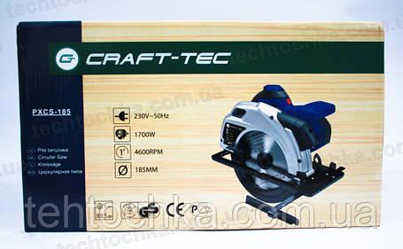 Циркурярка CRAFT-TEC PXCS185, фото 2