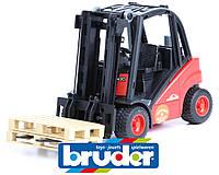 Вилочный погрузчик  Linde BRUDER 02511 игрушка