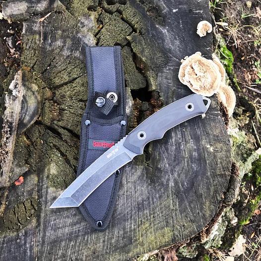 Нож тактический Grand Way 10535 (черное лезвие)