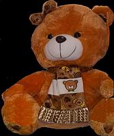 Коричневый Медведь 28 см маленькая плюшевая игрушка милый подарок взрослым и детям