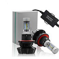 Автолампа LED H13 PHILIPS ZES LED 50W, 8000LM, 5000K, 9-32V (пара)