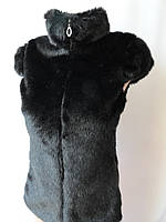 Женские шубки с короткими рукавами.