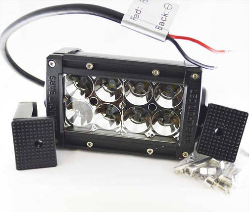 Дополнительная светодиодная фара 24W 8PCS*3W 10-30V белый, фото 2