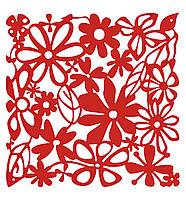 Декоративная Панель Alice 4 шт. красный прозрачный