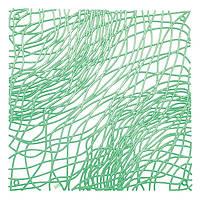 Декоративная Панель Silk 4 шт. мятный прозрачный
