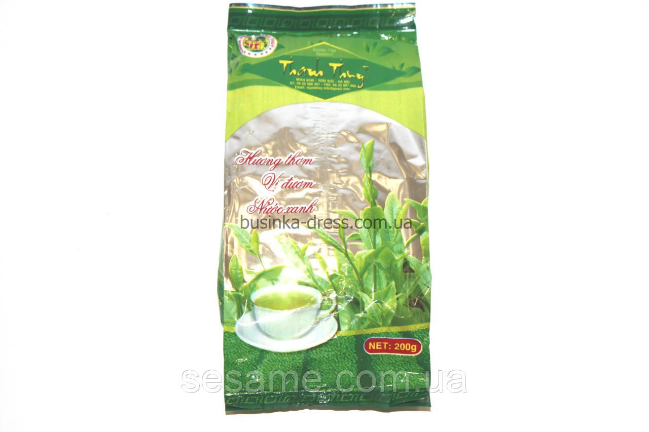 Вьетнамский Зеленый чай Thai Nguyen Thanh Thhny 200г