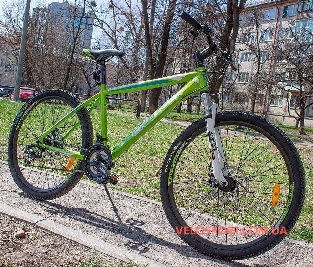 Горный велосипед Crosser Faith 26 дюймов зеленый