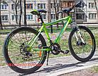 Горный велосипед Crosser Faith 26 дюймов зеленый, фото 2