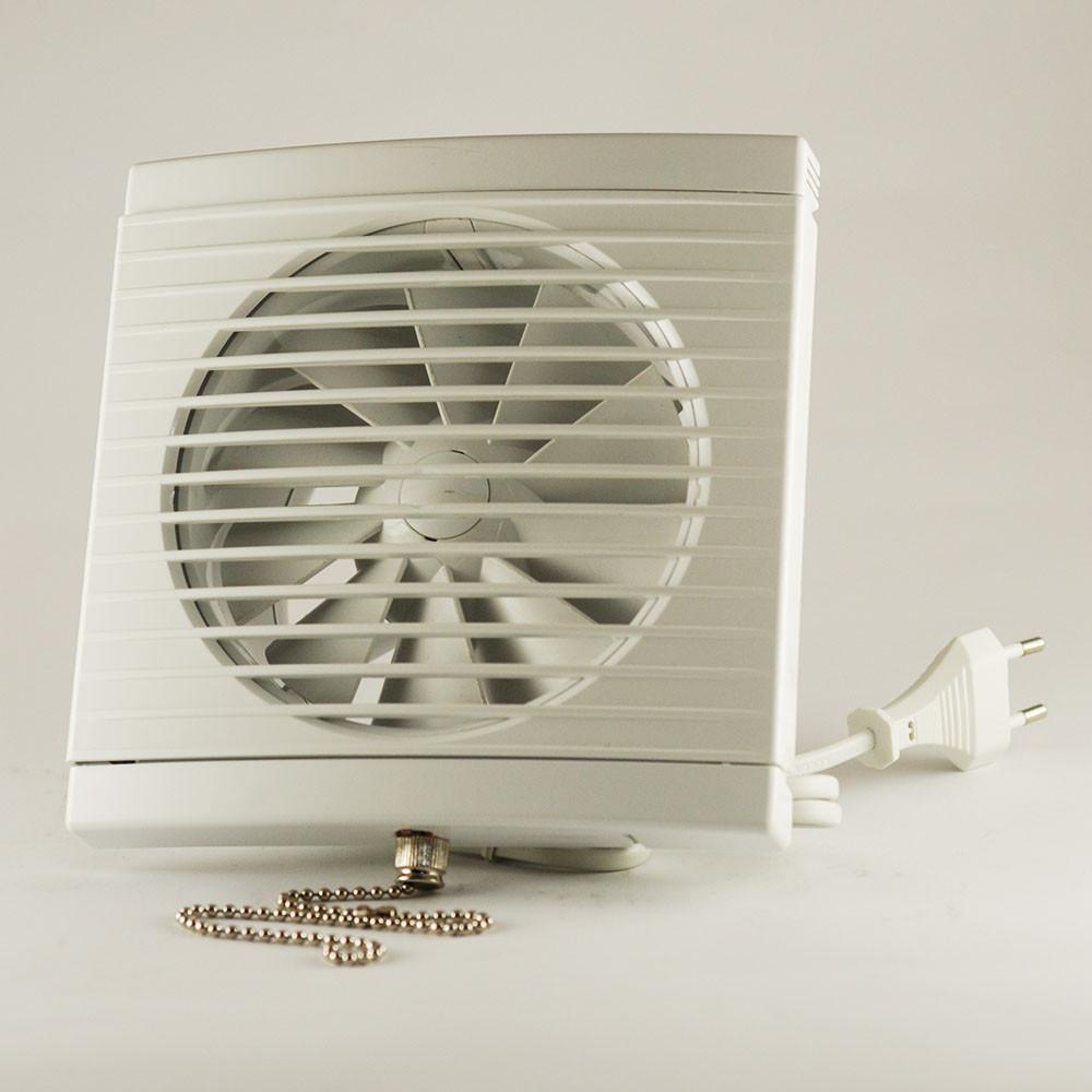 Вытяжной бесшумный вентилятор для ванной бытовой осевой Dospel PLAY CLASSIC 125 WP 007-3604