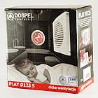 Вытяжной бесшумный вентилятор для ванной бытовой осевой Dospel PLAY CLASSIC 125 WP 007-3604, фото 2